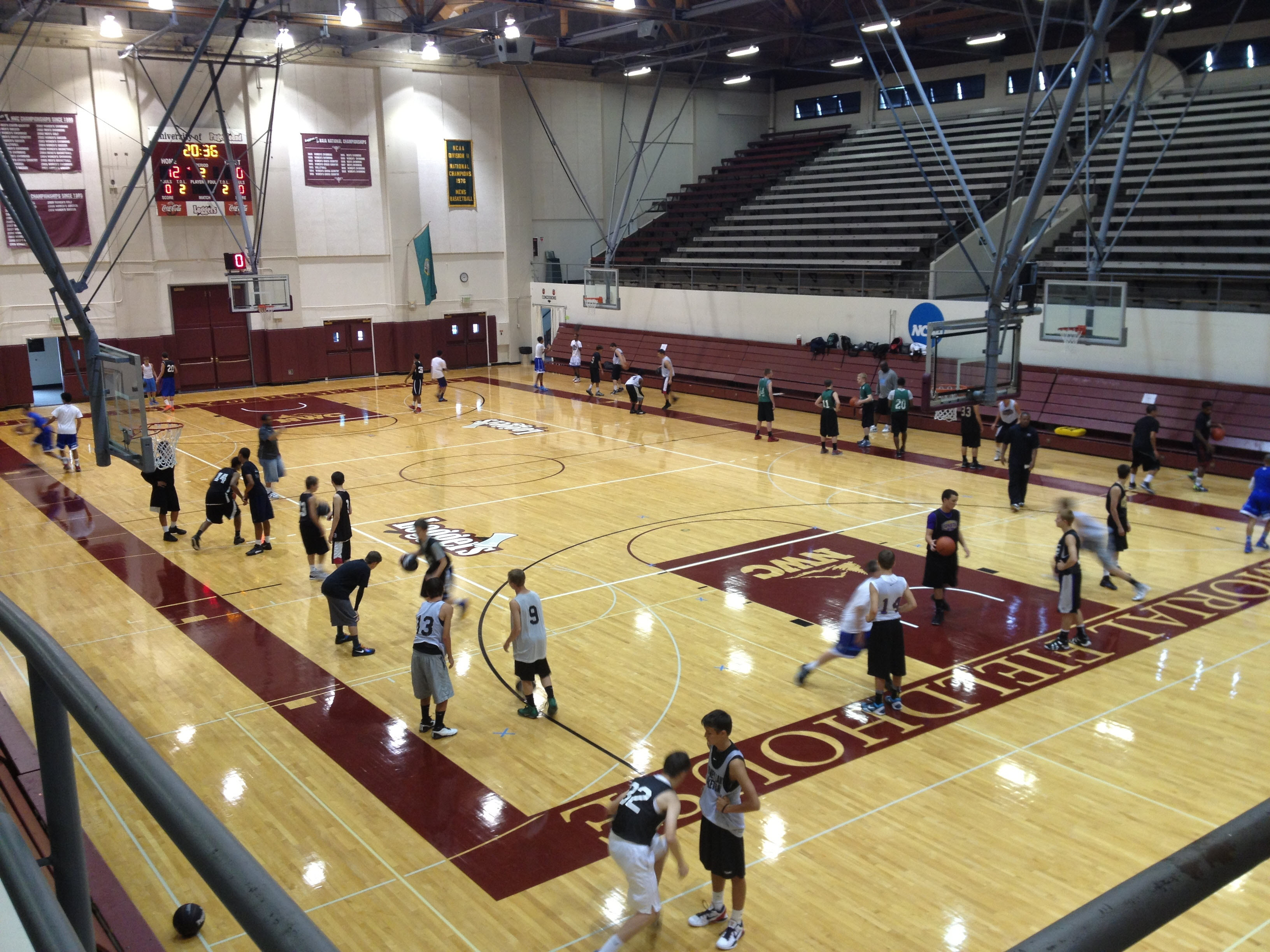 University Of Puget Sound Basketball Camps Facilities